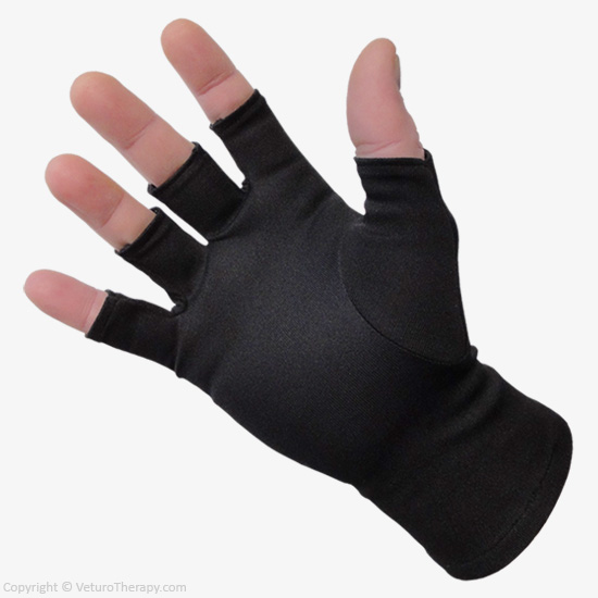 Gloves With Fingertips Out: Infrared Arthritis Gloves Half Finger